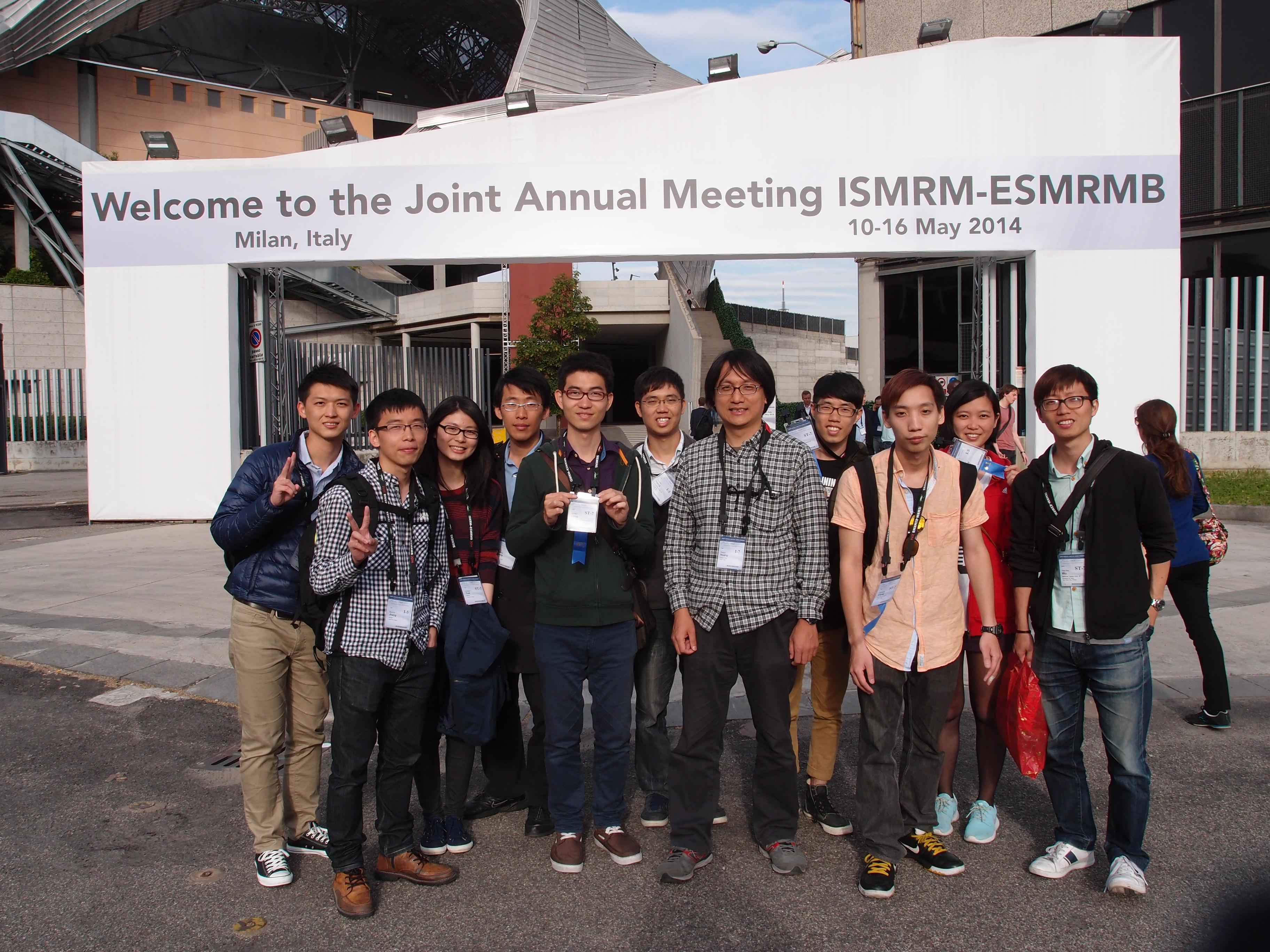 ISMRM 2014 (Milan)